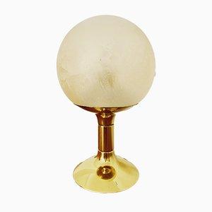 Space Age Messing Sputnik Tischlampe von Kaiser Idell, 1960er