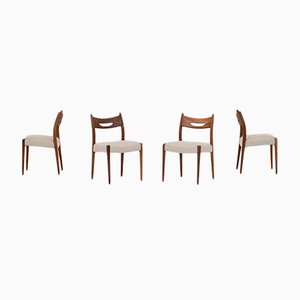 Dutch Dining Chairs, 1960s, Set of 4