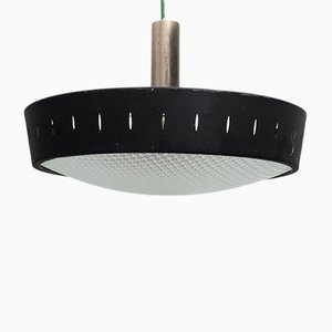 Black Pendant Lamp, 1960s