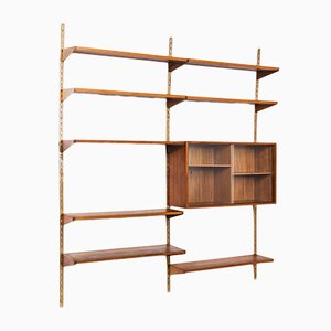 Mid-Century Danish FM Shelving Unit by Kai Kristiansen for FM Møbler, 1960s