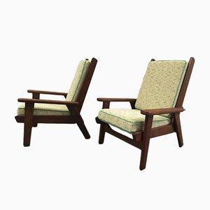 FS 108 Sessel von Pierre Guariche für Free Span, 1950er, 2er Set