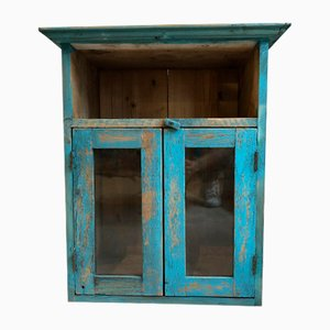 Vintage Wooden Display Cabinet, 1940s