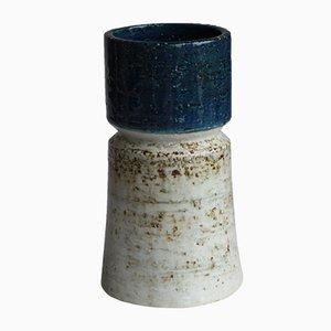 Skandinavische Mid-Century Vase von Sylvia Leuchovius für Rörstrand, 1960er