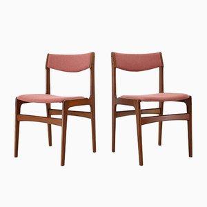 Vintage Danish Teak Dining Chairs, 1960s, Set of 6