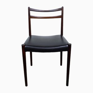 Customizable Vintage Danish Rosewood Dining Chairs, 1960s, Set of 6