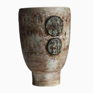 Deutsche Mid-Century Marcus Vase von Hans Welling für Ceramano, 1960er