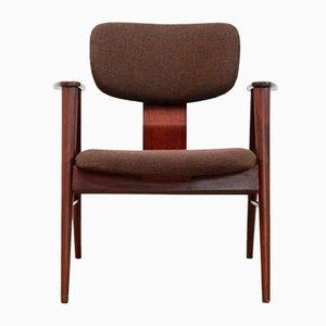 Teak FT14 Armlehnstuhl von Cees Braakman für Pastoe, 1950er