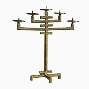 Mid-Century Bronze Candleholder from Drangsgaard Oslo, 1970s