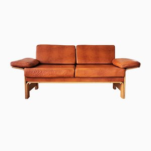 Vintage Beech 2-Seater Sofa by Yngve Ekström for Swedese, 1970s