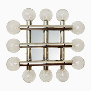 Vintage Sputnik Wall or Ceiling Lamp by J. T. Kalmar for Kalmar Franken KG, 1970s