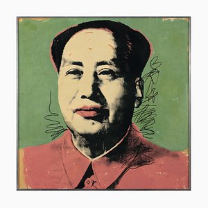 Pop Art Mao Zedong Plakat von Andy Warhol, 1972