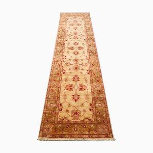 Beige, Yellow, Red & Brown Wool Carpet, 1970s