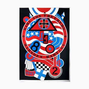 Karl Von Freyburg: Hartley Elegies, Berlin Series Serigraph Print by Robert Indiana, 1990s