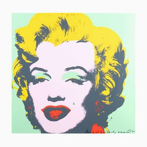 This Is Not by Me: Marilyn Monroe Serigraph Print by Andy Warhol, 1980s