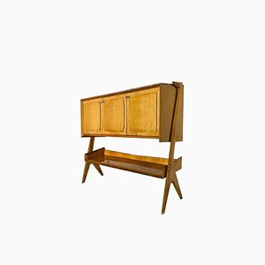 Vintage Sideboard aus Holz von Osvaldo Borsani, 1960er