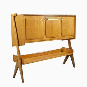 Credenza vintage in legno di Osvaldo Borsani, anni '60