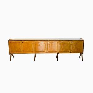 Vintage Wooden Sideboard by Osvaldo Borsani, 1960s