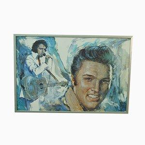 Elvis Presley Plakat von Minerva, 1977