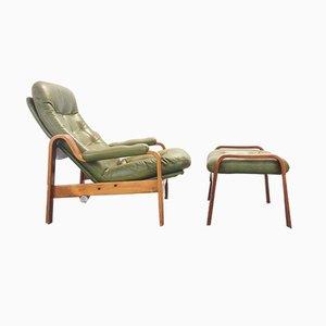 Scandinavian Lounge Chair from G-Mobel, 1970s