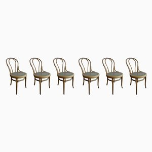 Antique Austrian Thonet no. 18 Chairs by Michael Thonet for Thonet, Set of 6