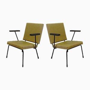 Fauteuils Modèle 415/1401 par Wim Rietveld pour Gispen, 1954, Set de 2