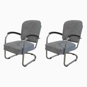 Art Deco Model 436 Armchairs by Paul Schuitema for Fana Rotterdam, 1930s, Set of 2