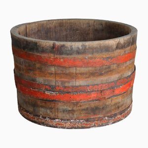 Handmade Wooden Hungarian Wine Tub, 1940s