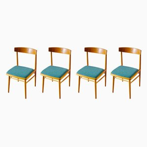 Mid-Century Dining Chairs by Miroslav Navratil for TON, 1960s, Set of 4