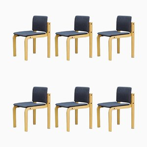 Dining Chairs from Fritz Hansen, 1960s, Set of 6