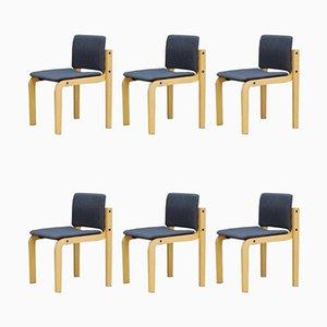 Esszimmerstühle von Fritz Hansen, 1960er, 6er Set