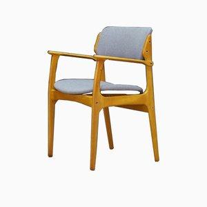 Teak Armchair by Erik Buch for Oddense Maskinsnedkeri / O.D. Møbler, 1960s