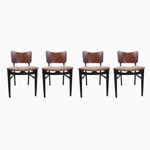 Mid-Century Dining Chairs from Beautillty, 1950s, Set of 4