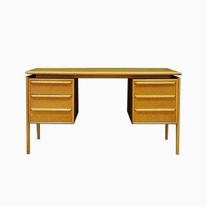 Schreibtisch aus Esche von GV Møbler, 1960er