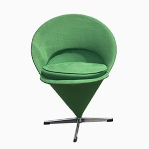 Kegelförmige Vintage K1 Sessel von Verner Panton für Nehl