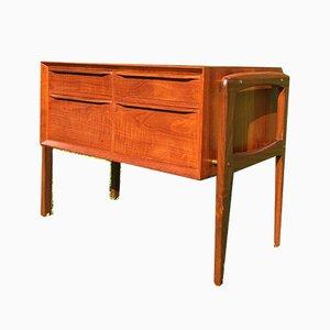 Small Vintage Teak Dresser by Arne Vodder