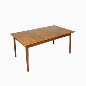 Large Mid-Century Teak Dining Table from Dalescraft, 1960s
