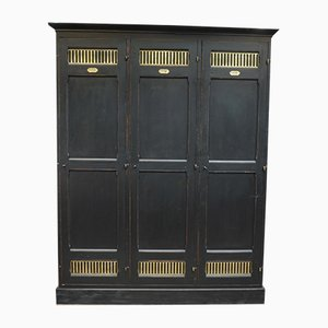 Antique Oak and Copper Safe