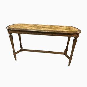 Antiker Louis XVI Klavierhocker