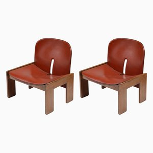 Vintage 925 Lounge Chairs by Tobia & Afra Scarpa, 1960s, Set of 2