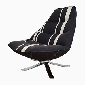 Danish MS 68 Lounge Chair with Swivel Foot by Madsen & Schübel for Nielaus Møbler