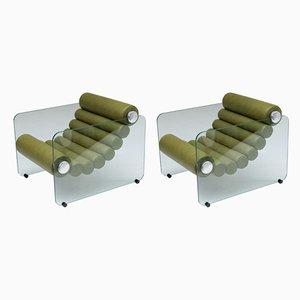 Vintage Sessel von Fabio Lenci für Comfort Line, 2er Set