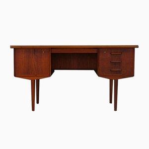 Vintage Schreibtisch aus Teak im skandinavischen Stil, 1960er