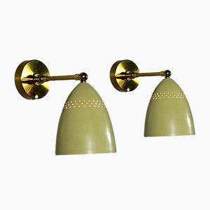 Adjustable Sconces, 1950s, Set of 2