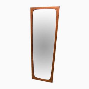 Teak Wall Mirror by Aksel Kjersgaard for Odder Møbler, 1960s