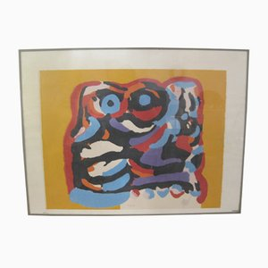 De Gele Olifant Lithograph by Karel Appel, 1975