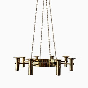 Chandelier by Hans-Agne Jakobsson for Markaryd, 1960s