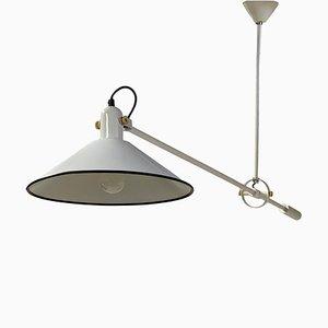 Lámpara de techo Mid-Century con contrapeso de J. J. M. Hoogervorst para Anvia, años 70