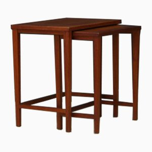 Vintage Danish Teak Nesting Tables, 1960s