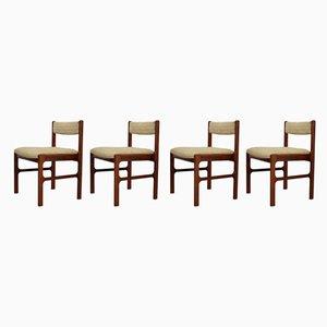 Esszimmerstühle aus Palisander von McIntosh, 1960er, 4er Set