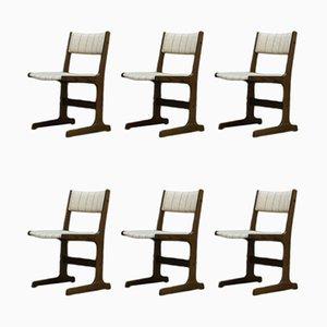 Dänische Vintage Esszimmerstühle von Farstrup Møbler, 1960er, 6er Set